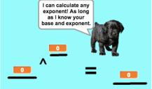 Calc any exponent